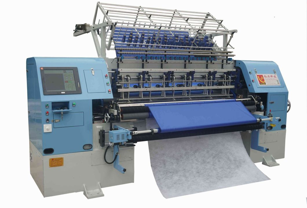 High Speed Duvet Cover Quilting Machine, Multi-Needle Shuttle Quilting Machine with Ce and ISO