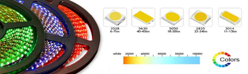 DC12V 60LEDs/M Samsung 5630 LED Strip Light