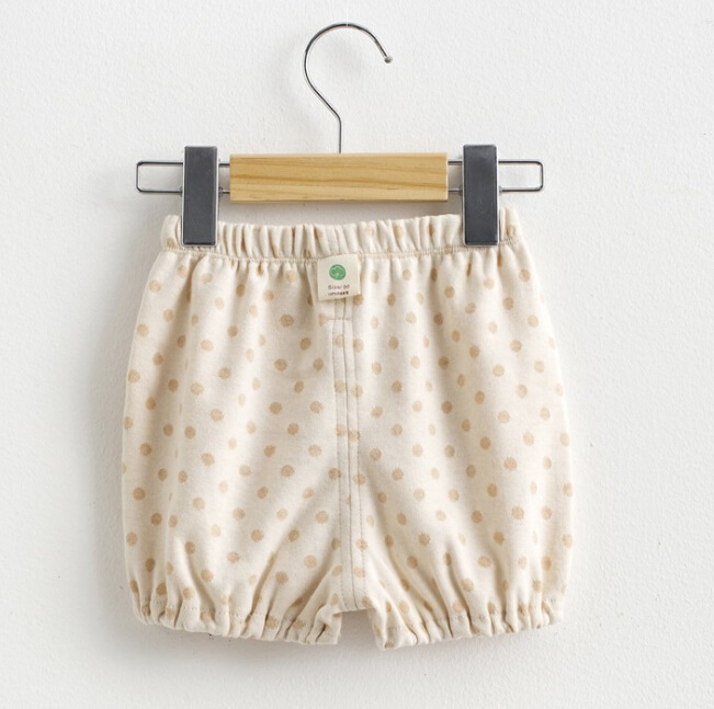 Organic Cotton Lovely DOT Printed Baby Short Pants
