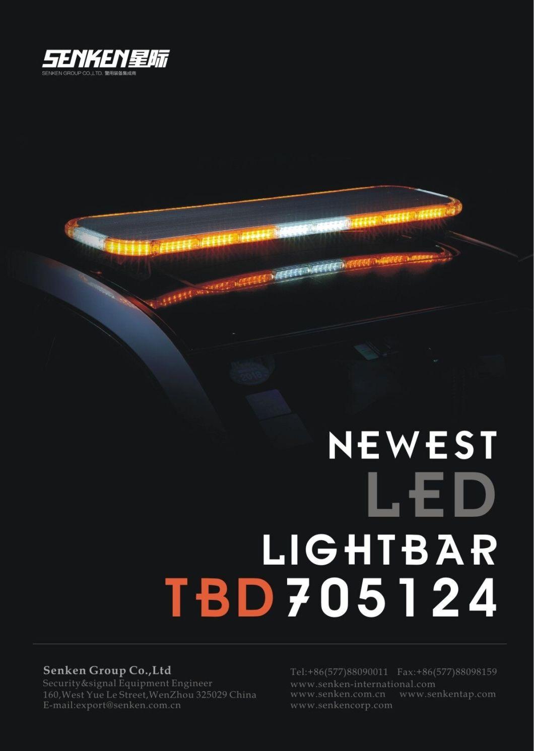 Senken Tbd700K 110mm Super Thin LED Sport Car Emergency Warning Light Bar