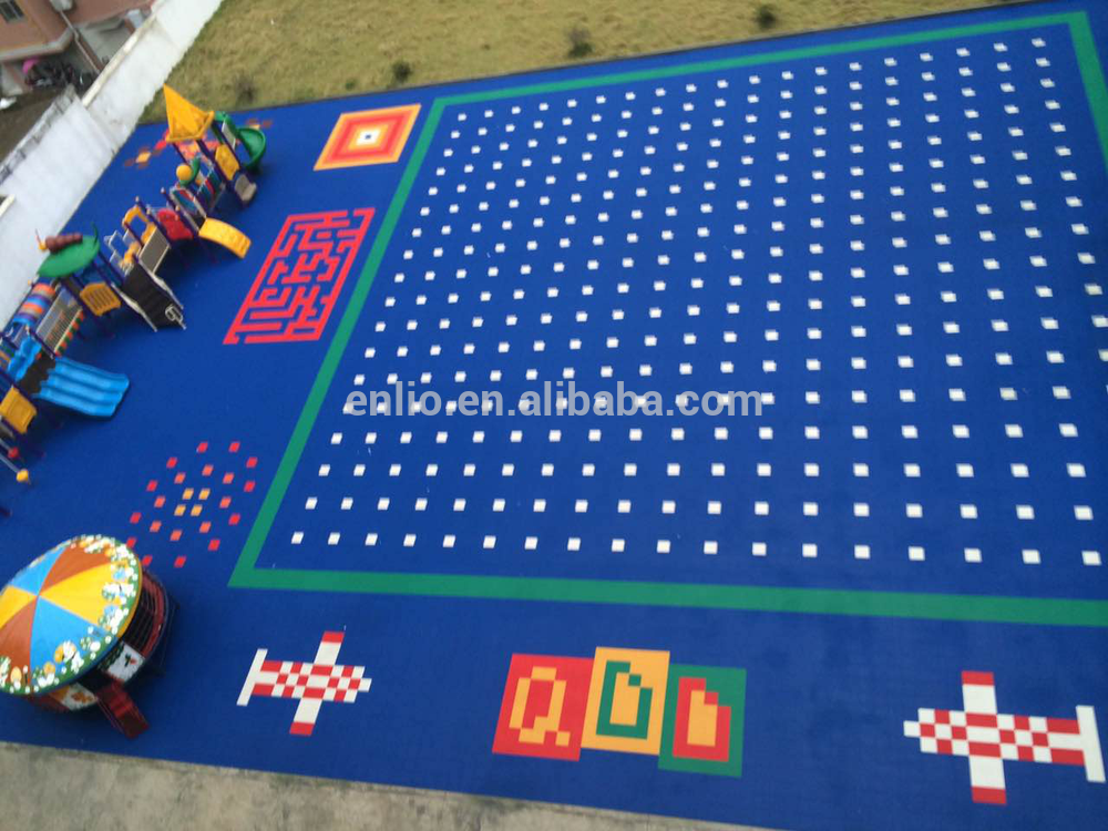 kids playground floor