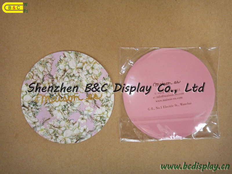 Most Popular Advertising Cardboard Coaster, Table Mats of Paper (B&C-G080)