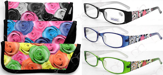 Fashion Plastic Reading Glasses (MRP21647)