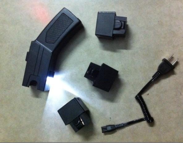 Police Aluminium Alloy Self Defense Stun Gun