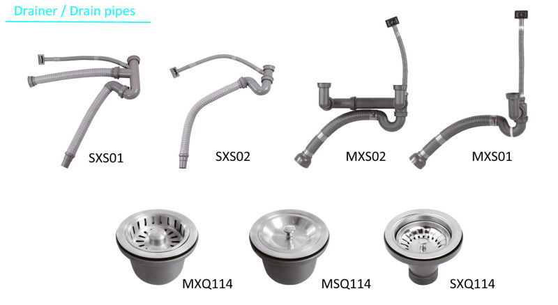 8247 Stainless Steel Stretching Double Bowl Sink