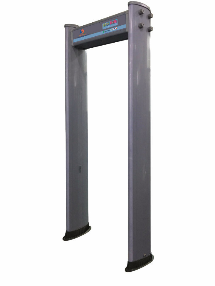 IP55 Weather-Proof Walk-Thru Metal Detector for Airport, Prison, Bank, Government SA300E