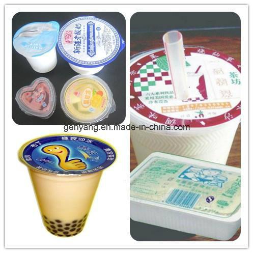 Milk Juice Yogurt Jelly Cup Filling and Sealing Machine