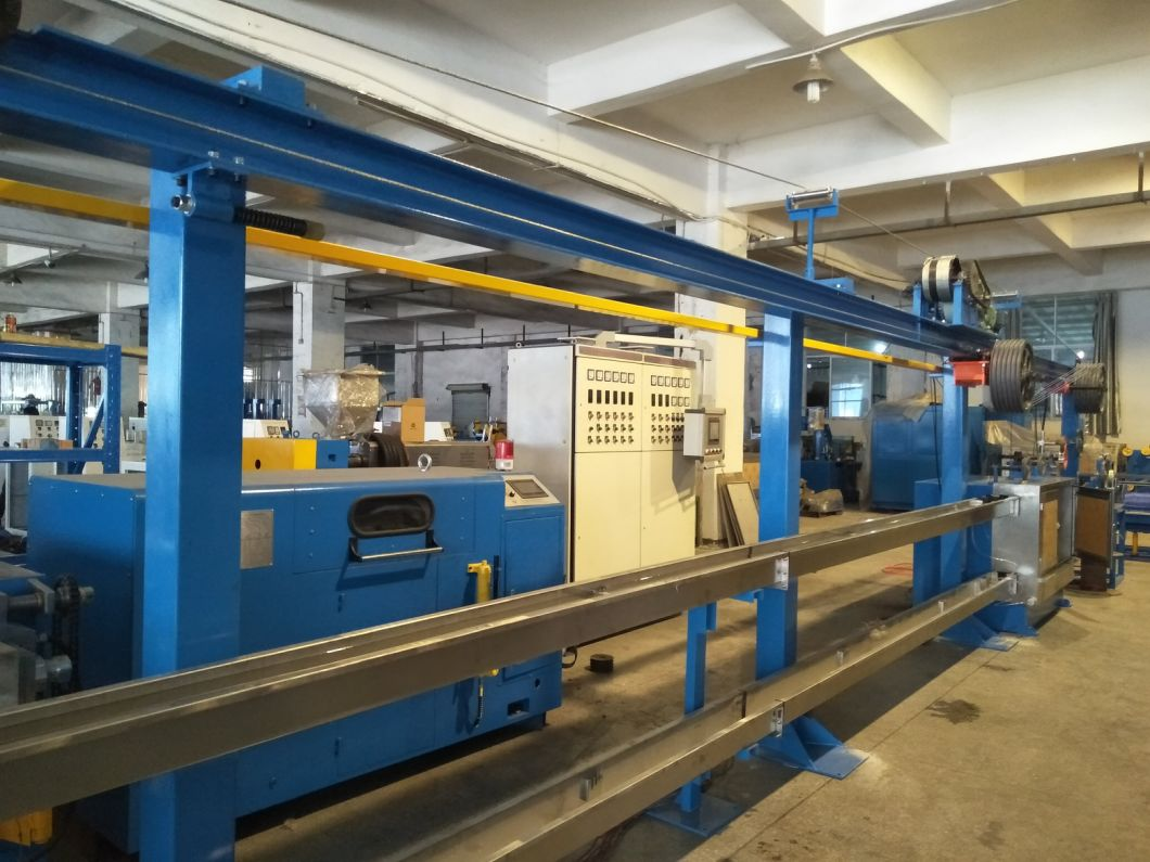 Insulation Copper Wire Cable Making Machine with PVC Material