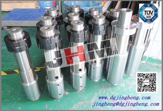 The Silicone Machine Screw Barrel