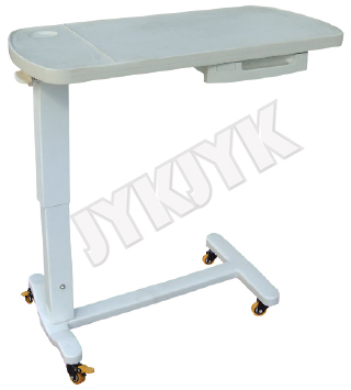 Medical Luxurious ABS Over-Bed Table for Hospital Bed