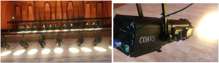 LED Zoom Profile Ellipsoidal Leko Light for Theatrical Lighting