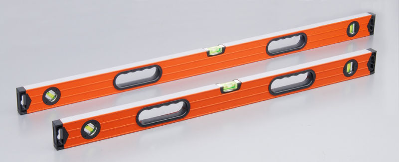 Ribbed Spirit Level with Flat End Caps (700811)