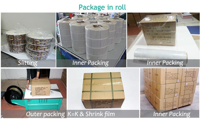 Color Printed Adhesive Label Sticker for Packing