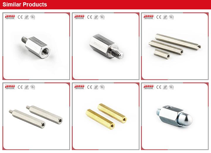 Building Hardware Road Threaded Metal Earring Stud