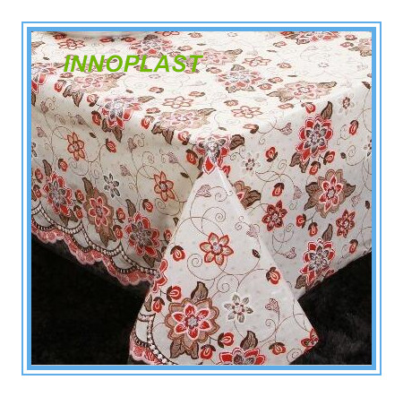 PVC Nt Lace Tablecloth in Roll