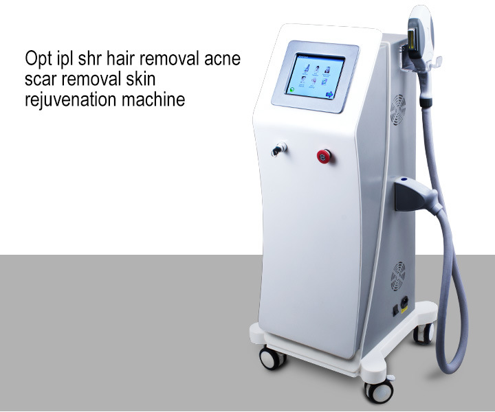 Shr IPL Opt Elight Skin Rejuvenation Freckle Removal Acne Scar Removal Hair Removal Beauty Machine