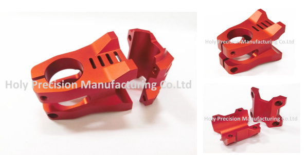 Electronic Spare Parts 6061-T6 Aluminum CNC Machining Parts
