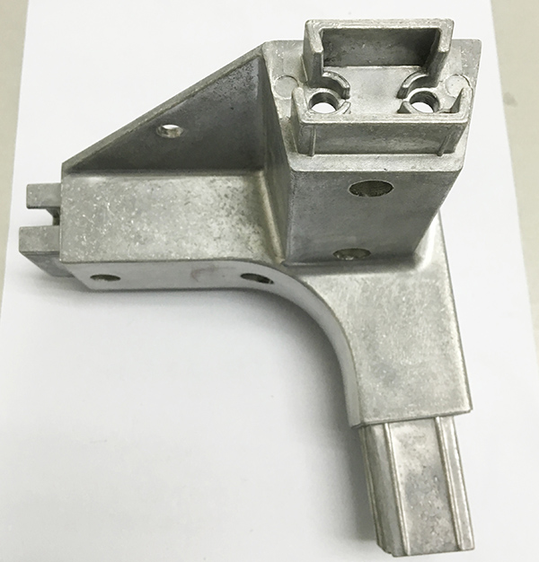 Precision Aluminum Triangle Furniture Connector Parts by Die Casting
