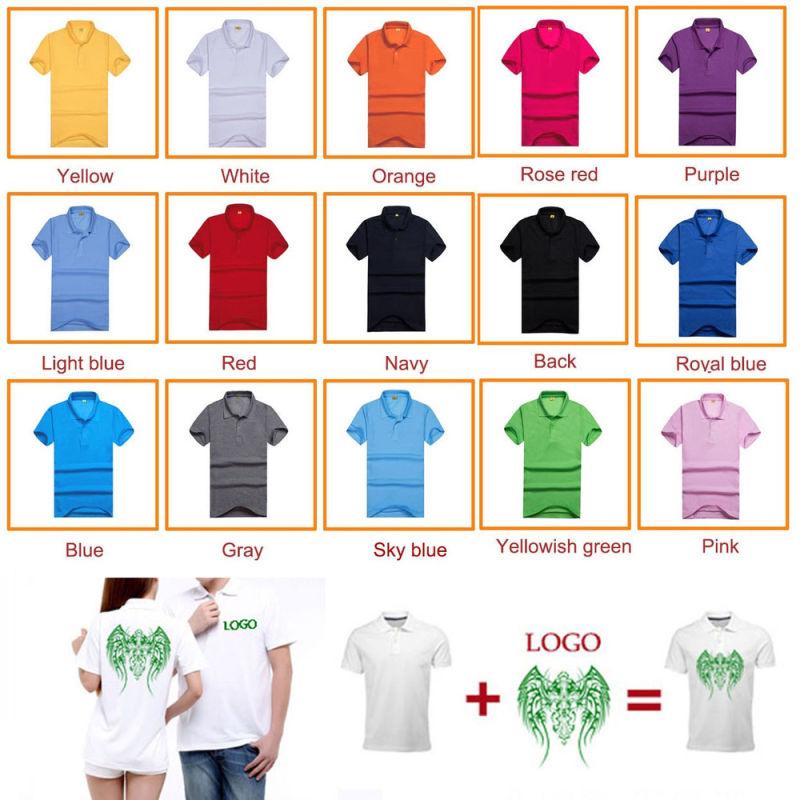 Hot Sale Logo Silkscreen Printed Men Cotton Shirt
