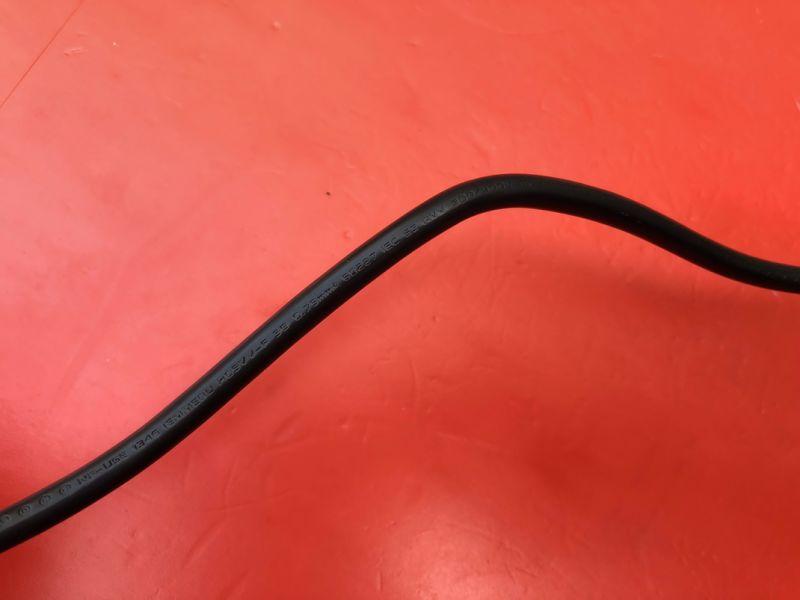 1.8m Black Sev Approval Swiss AC Power Cord