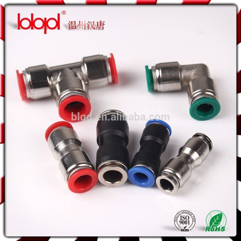 One-Touch Metal Union Pneumatic Fittings Mpu