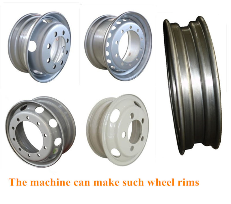 Car Tubeless Wheels Rollforming Machine for 17.5