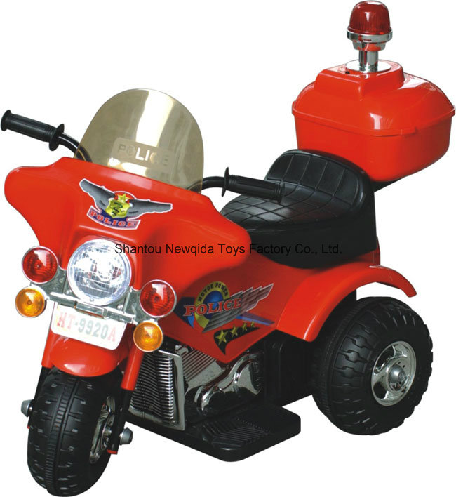 2016 New Kids Toy Electric Ride on Motorcycle with Alarm Light