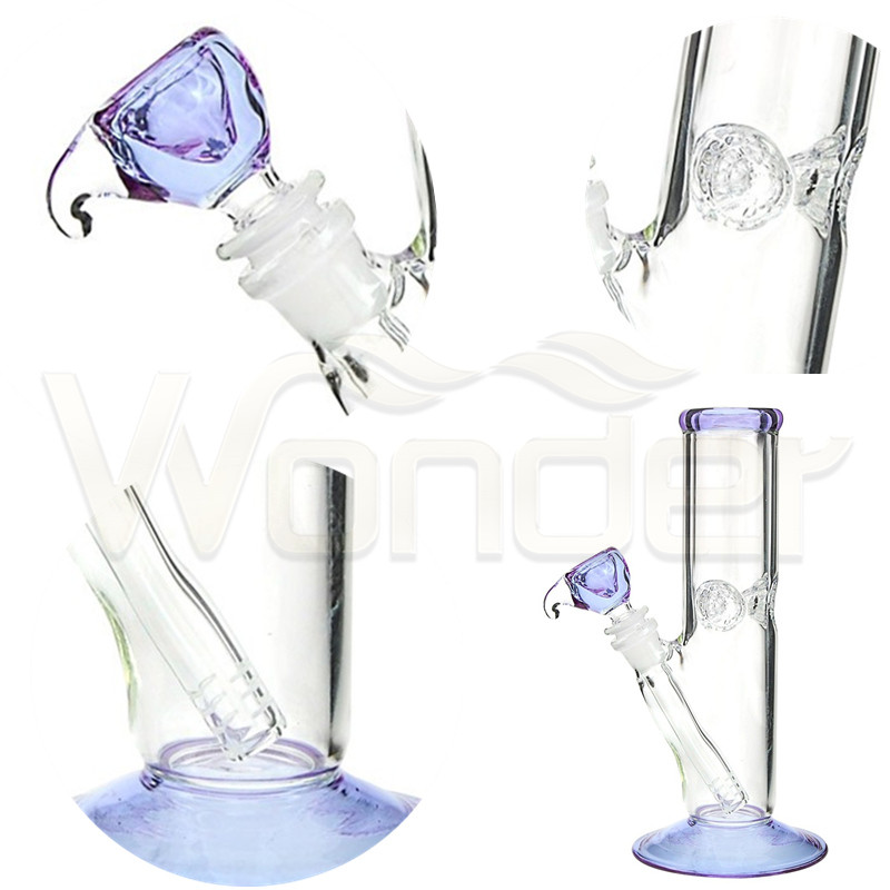 Glass Smoking Pipe with High Quality 9mm Thickness