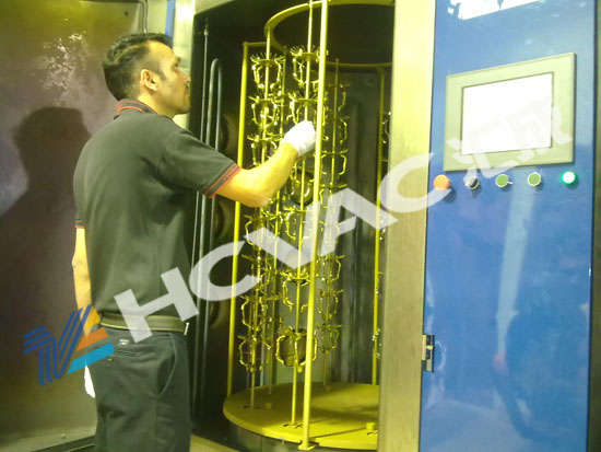 Door Handle PVD Vacuum Coating Equipment/Door Hinger Gold Plating Machine
