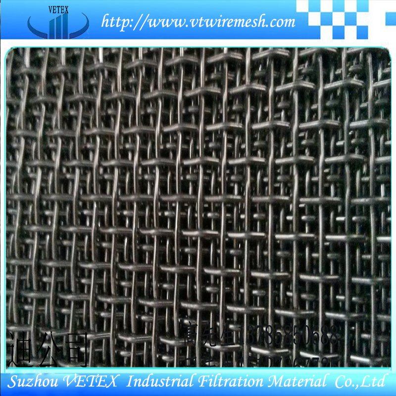 Crimped Square Wire Mesh Used in Mine