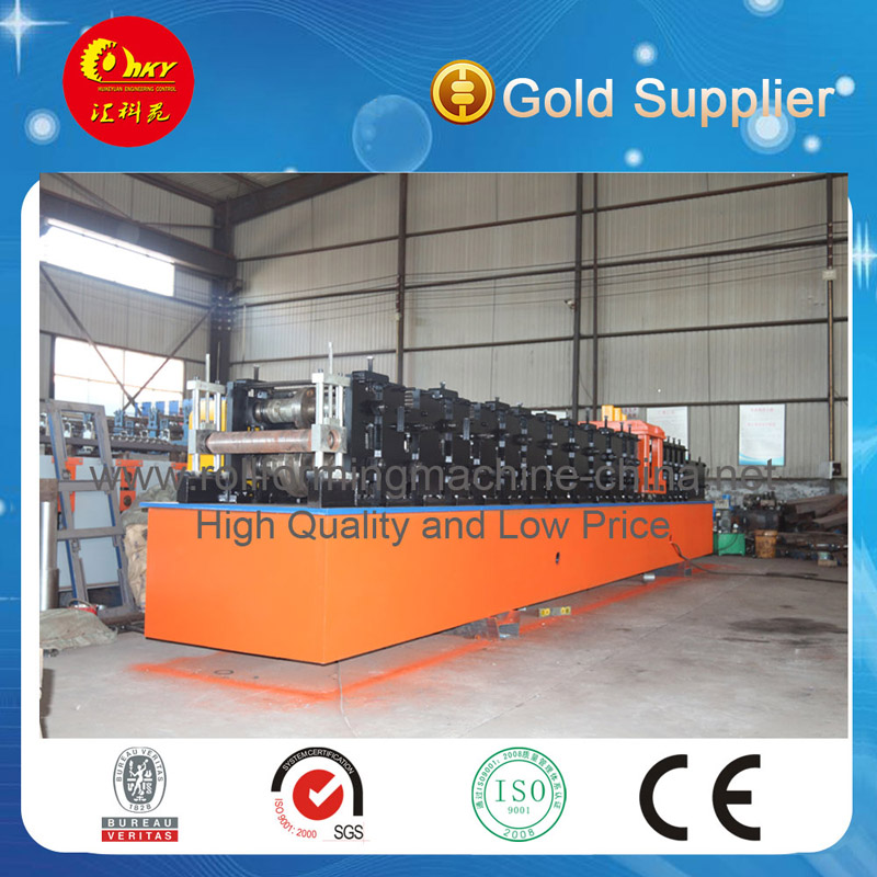 High Quality Automatic C Type Lip Channel Roll Forming Machine