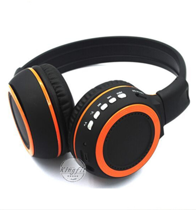 2016 New Stereo TF Card FM Radio Bluetooth Headphone