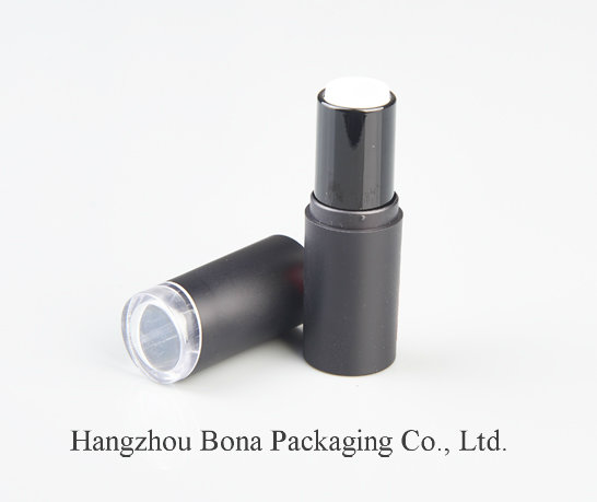 Plastic Empty Matte Black   Lipstick Tube for Lipstick