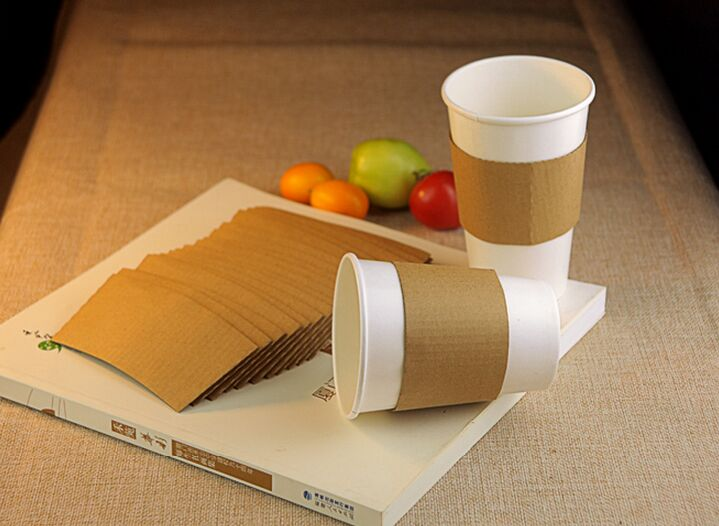 8oz Single Wall Paper Cup 8oz Coffee Cups for Vending8oz 12oz 16oz Sleeve Paper Cups