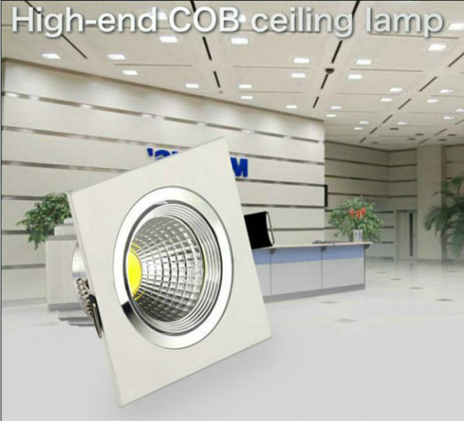 3W/5W/7W/9W/12W LED COB Downlight for Living Room
