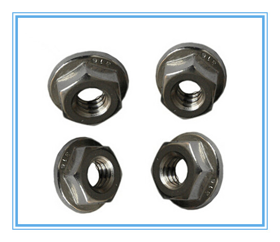 Hex Flange Nuts, M4-M64, Carbon Steel, High Strength Steel, Stainless Steel