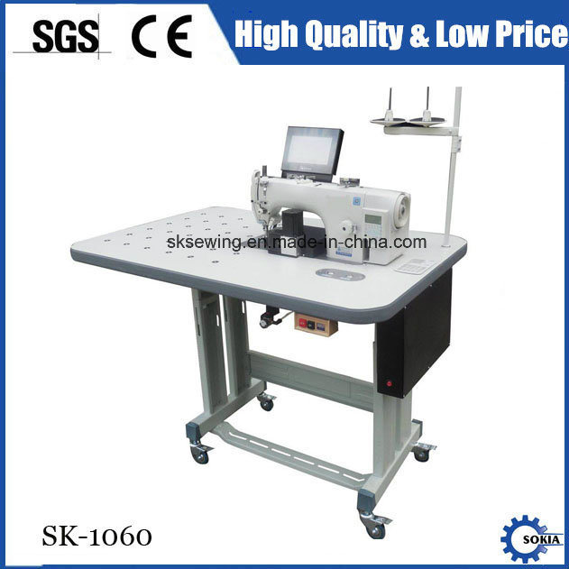 CNC Template Programmable Single Needle Lockstitch Sewing Machine