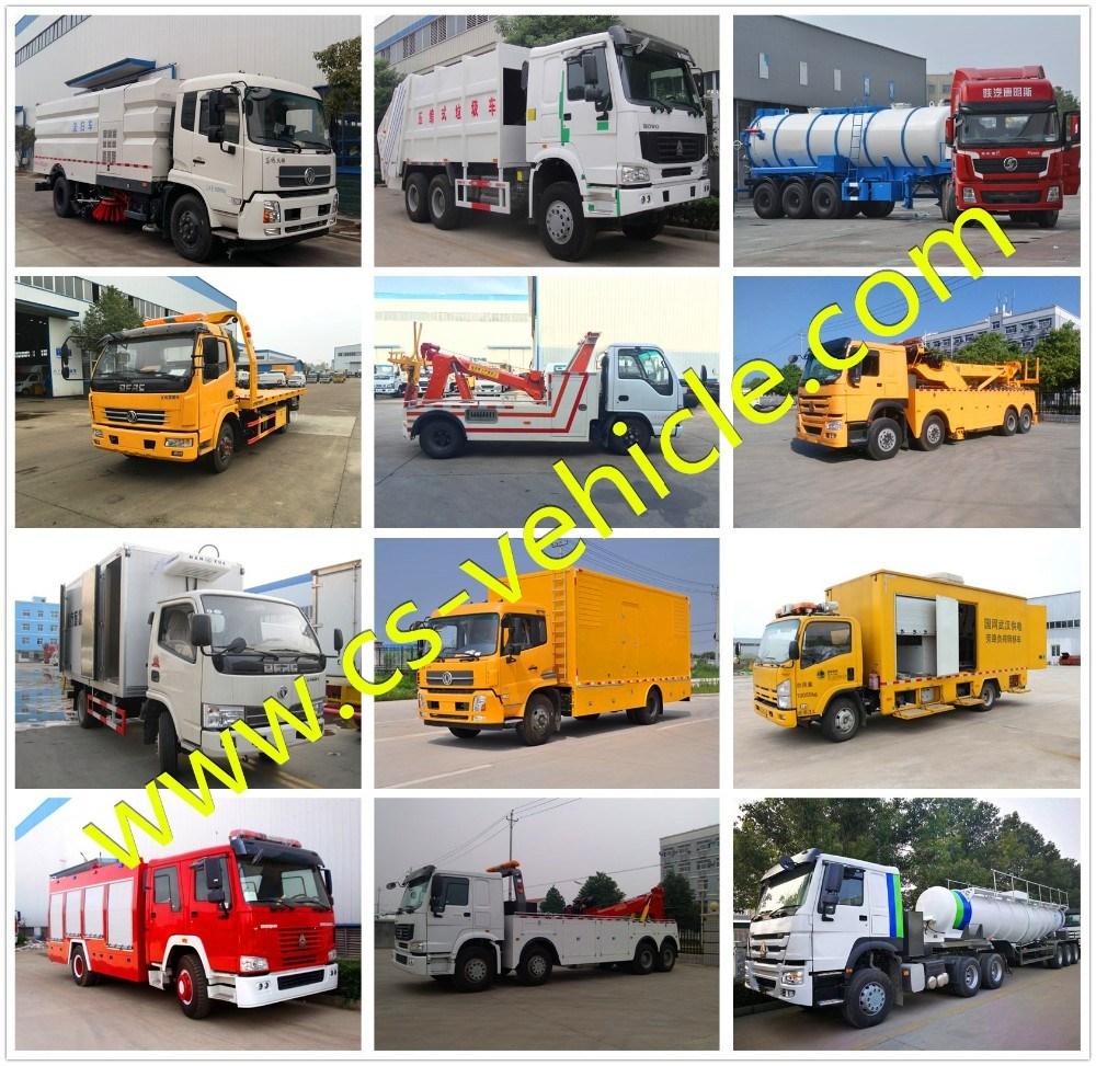 Sinotruck HOWO 10-Wheeler 16cbm 16m3 10t Compactor Garbage Truck