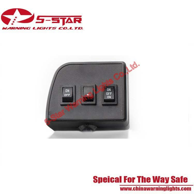 3W Stl Under Visor LED Emergency Warning Lights