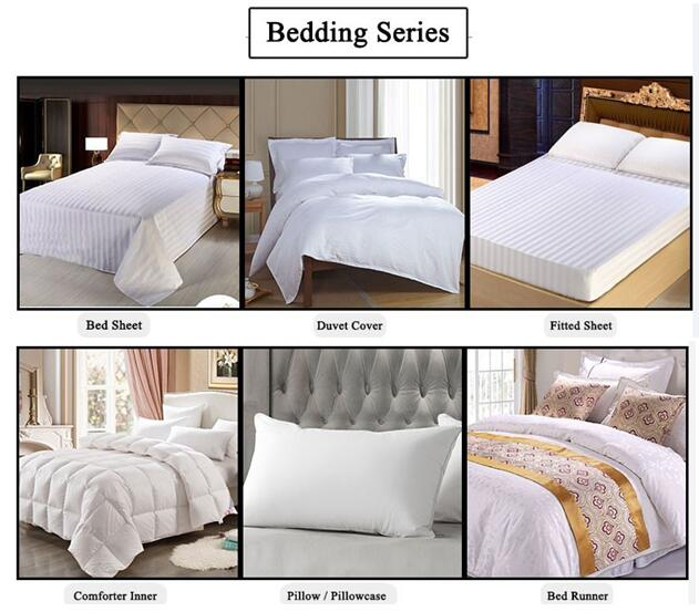 High Egyptian Cotton for Making Hotel Bedding (DPF201605)