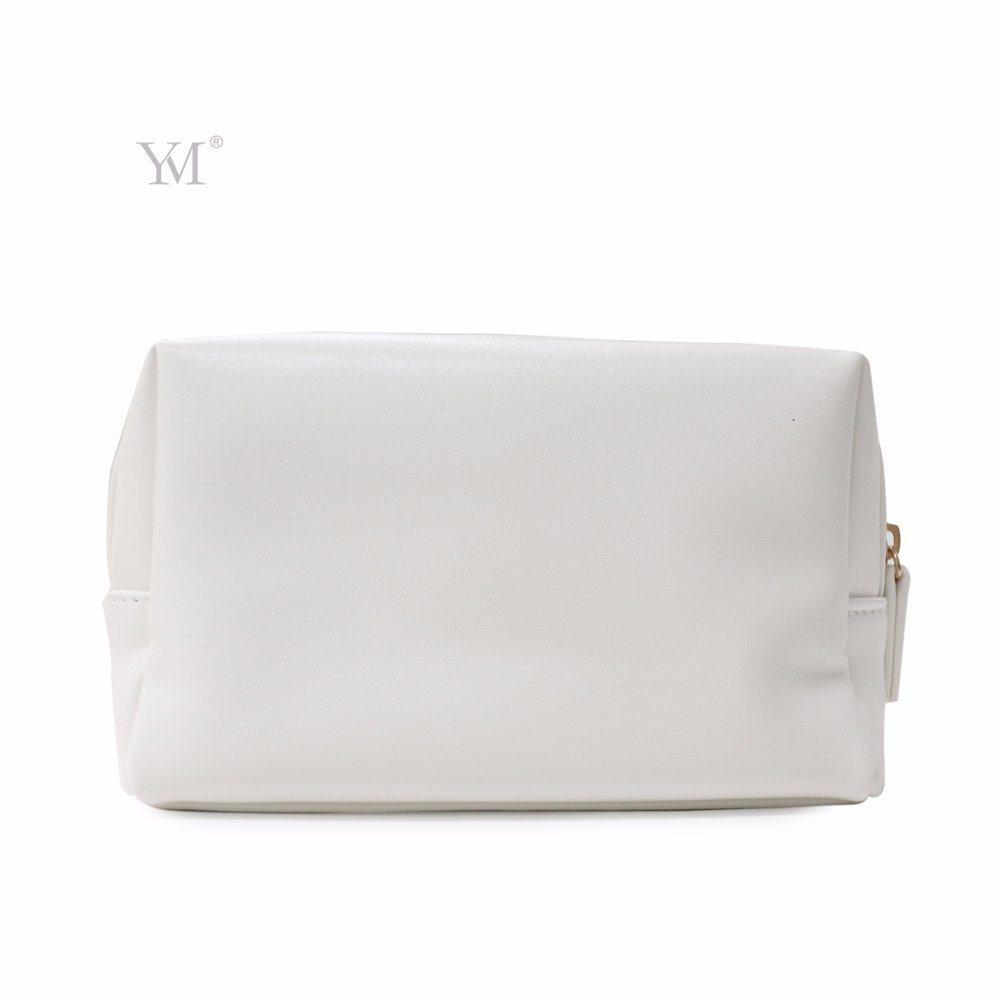 Hot Sale Creative Design Personalized PVC Leather Basics Cosmetic Bag