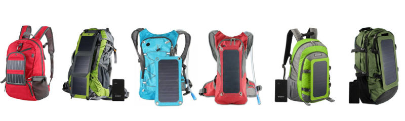 Waterproof Solar Charger Backpack