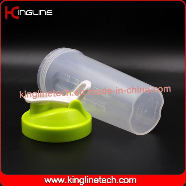 700ml new design Plastic Protein Shaker Bottle with Filter (KL-7020D)