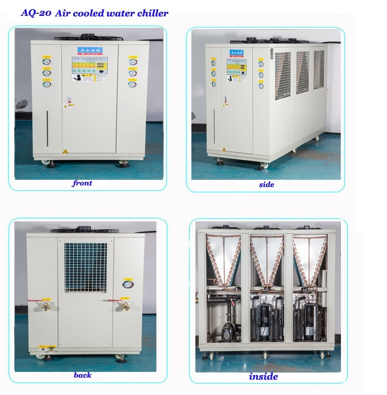 Factory Direct Sale 20HP Industrial Scroll Type Air Cooled Water Chiller