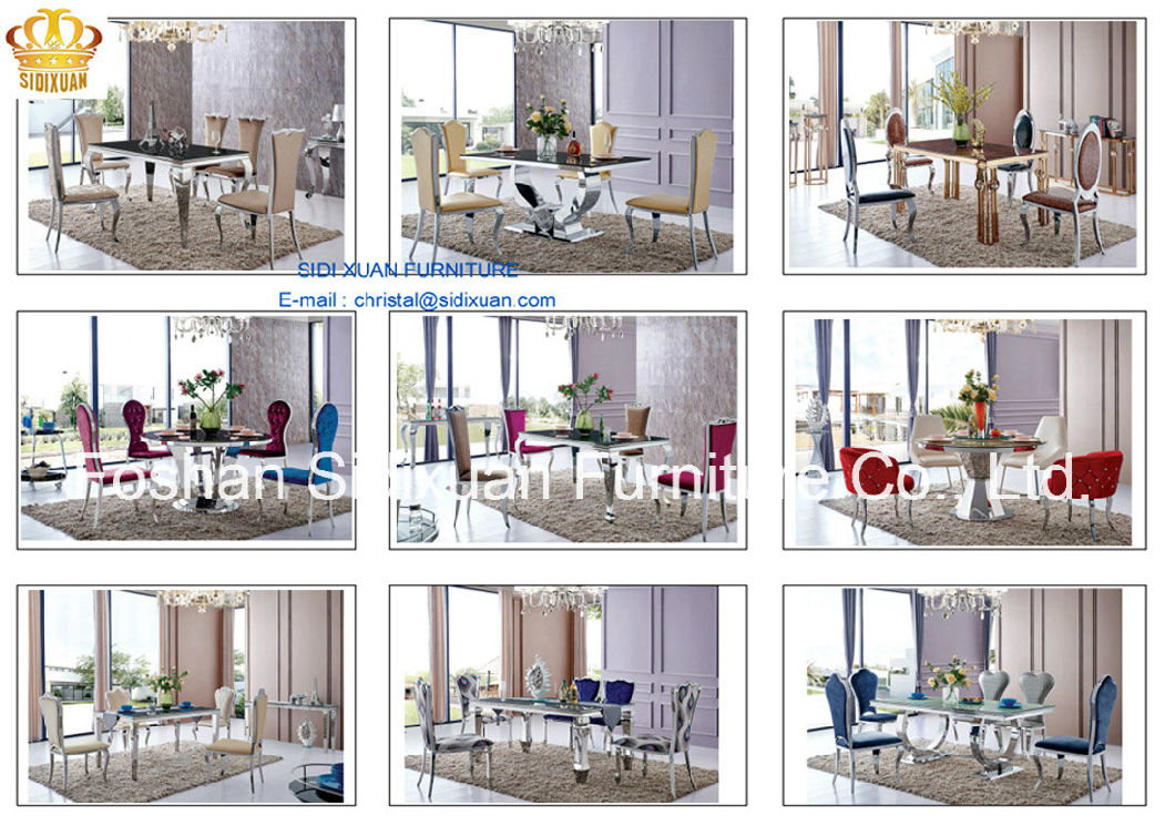 Coffee Table / Stainless Steel Coffee Table / Marble Top Coffee Table / Modern Coffee Table /Tea Table Sj813