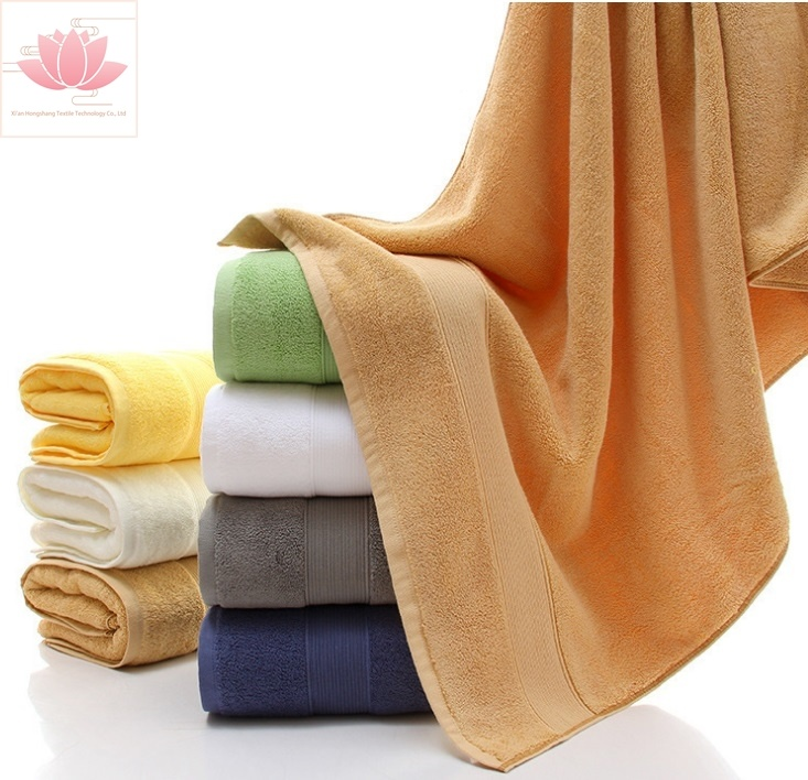 100% Cotton Customized Jacquard Terry Soft Towel Hand