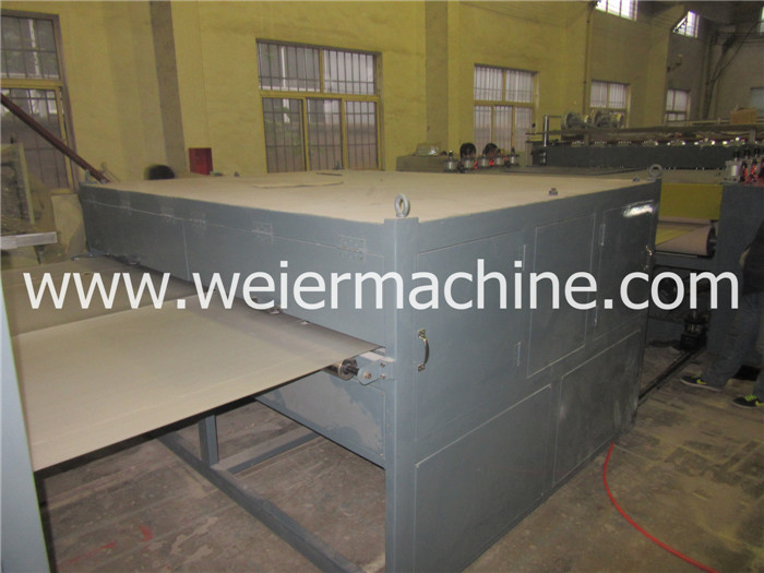 PP PE PC Hollow Sheet Board Profile Production Line