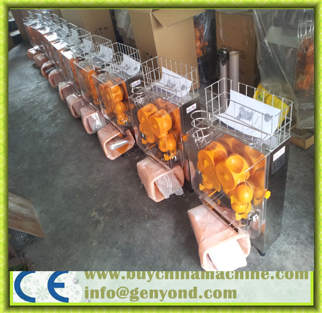 Automatic Industrial Orange Juice Extractor