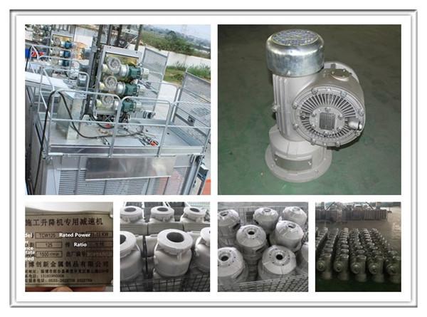 Tcw125 Reducer Gearbox Aluminum Casting Enclosure