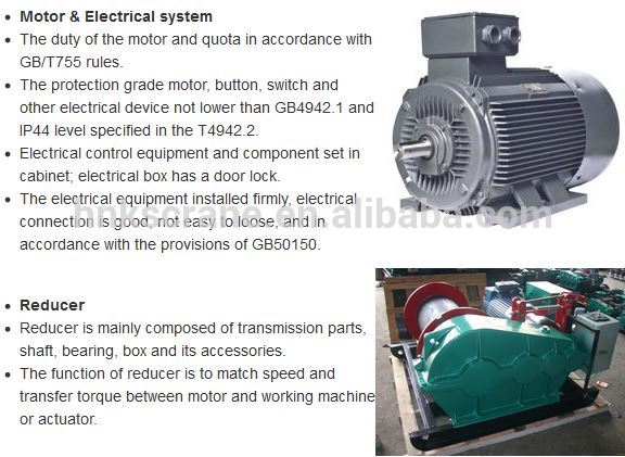 Henan Mine Professional Electric Winches